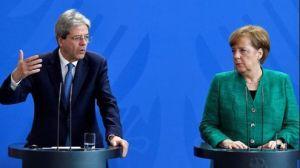 """Gentiloni a Merkel: """"In Italia nessun rischio di un governo su posizioni populiste anti-Ue"""""""