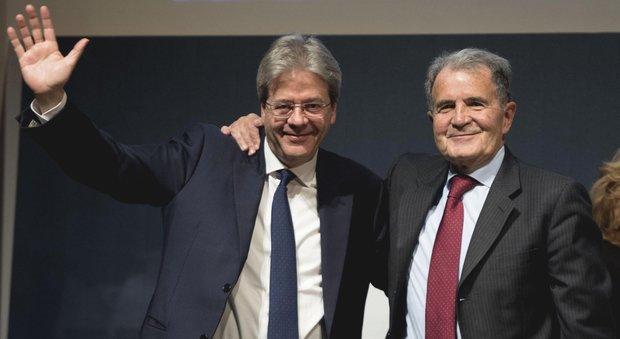 Gentiloni, l'investitura di Prodi