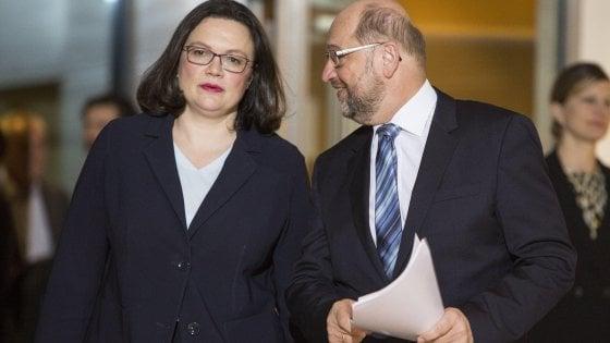 Germania: Sdp in rivolta. Schultz si dimette da segretario