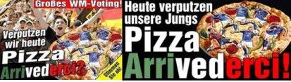 Germania: stampa `Italia, vi facciamo la pizza`