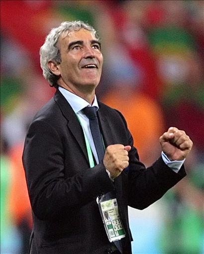 Il ct francese boccia Zidane e Trezeguet e promuove l'Italia