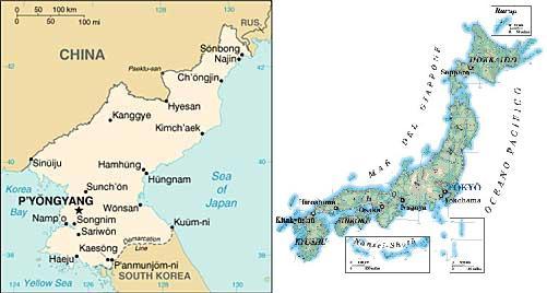 """Il Giappone """"punisce"""" la Corea del Nord"""