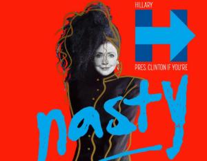 Janet Jackson sostiene Hillary Clinton