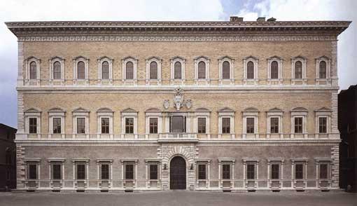 L'arte contemporanea a palazzo Farnese