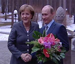Mosca: visita di Angela Merkel