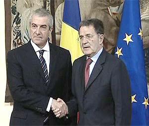 """Prodi e Tariceanu scrivono a Barroso: """"Il problema è europeo"""""""