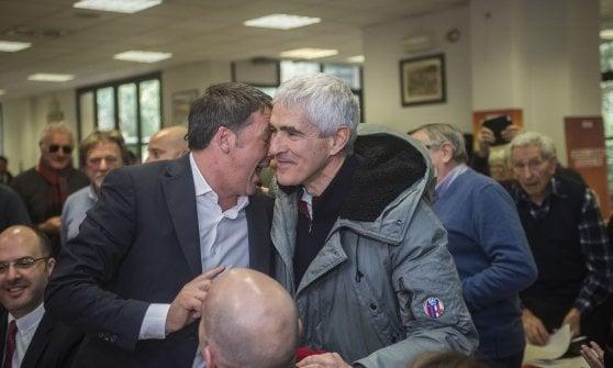 Renzi e Casini a Bologna
