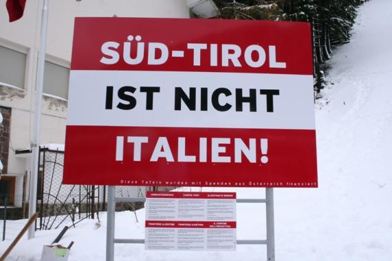 """""""Sudtirol ist nicht Italien"""" di nuovo al Brennero"""