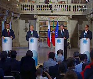 Vertice Ue-Russia, Putin propone un centro congiunto per i diritti umani