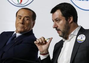 Berlusconi: 'Felice per Salvini ma sarò il regista del centrodestra'. Salvini: 'Centrodestra salirà compatto al Colle'