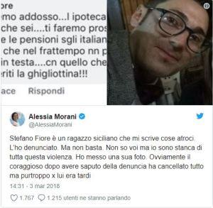 Alessia Morani denuncia minacce di morte su Facebook