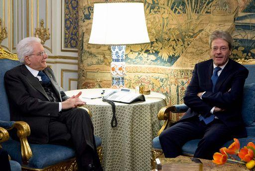 Gentiloni si è dimesso da presidente del Consiglio