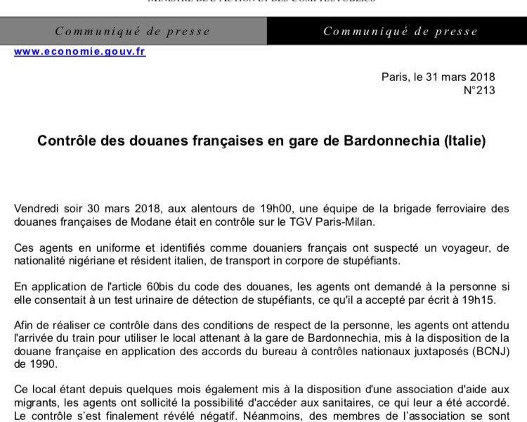 Polizia francese sconfina a Bardonecchia, politici italiani furiosi