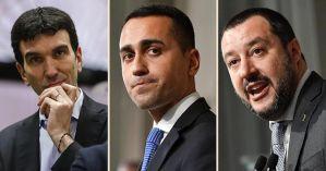 Il rilancio a Salvini e le avance di Di Maio al Pd