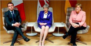 "Merkel, Macron e May: ""Stop ai dazi Usa o L'Europa si difenderà"""