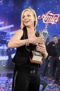 Emma vince la finale di 'Amici'