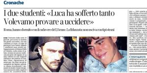 L'omicidio di Luca Varani