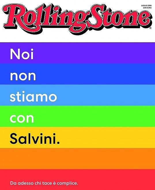 Noi non stiamo con Salvini.