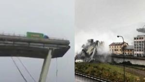 Genova, crolla il Ponte Morandi