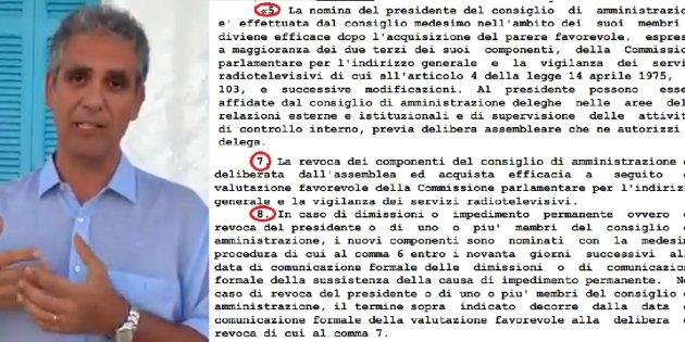 Per Pd e Forza Italia la conferma di Foa è illegittima