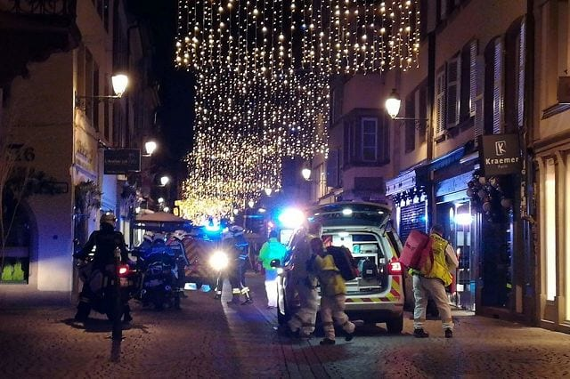 Strasburgo, attentato nel mercatino di Natale