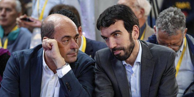 Primarie Pd: Zingaretti attacca Martina