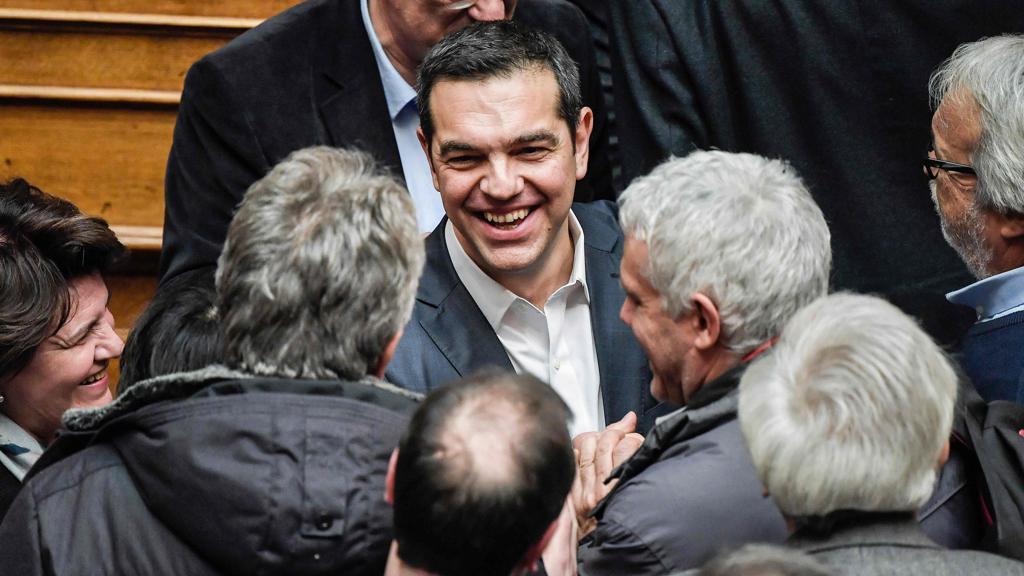 Crisi Macedonia, Tsipras ottiene fiducia Parlamento