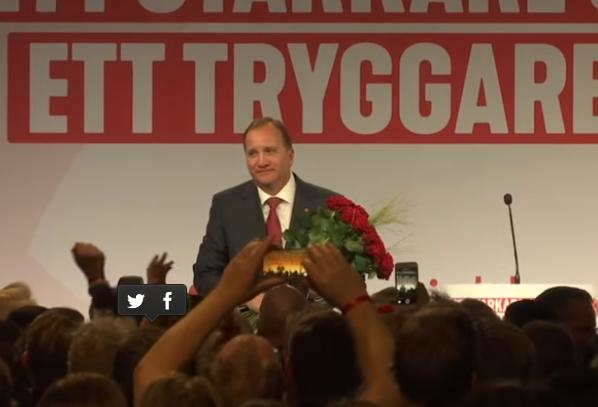 Stefan Lofven è primo ministro svedese per la seconda volta