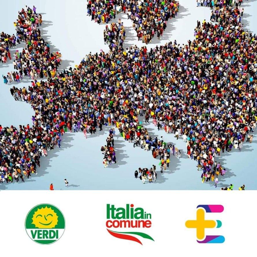 Verdi, Italia in Comune e +Europa insieme alle Europee