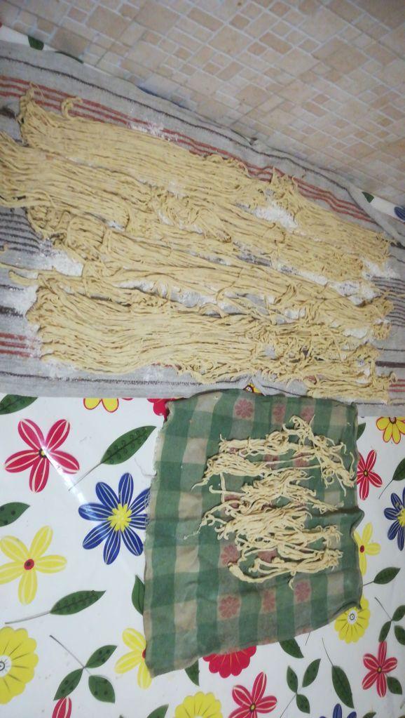 Pasta fatta in casa con ragù di carne
