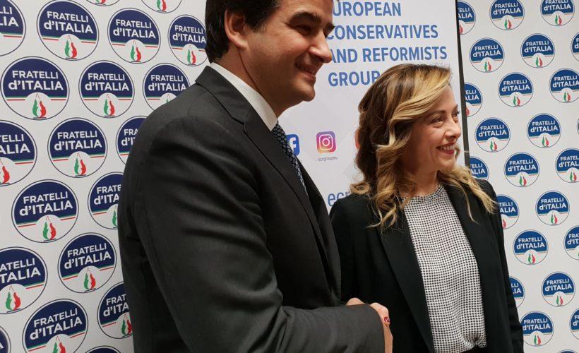 Patto Meloni-Fitto: nuovo soggetto, insieme non solo a Europee