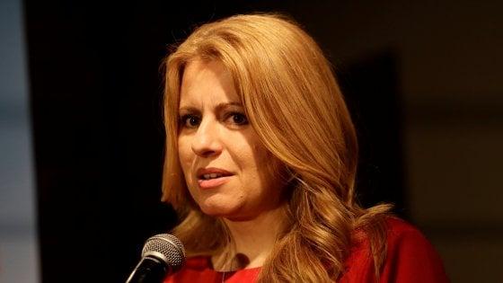 Slovacchia, vince Zuzana Caputova al primo turno delle presidenziali. Sconfitti i sovranisti