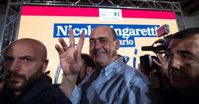 Zingaretti segretario Pd con il 70%. Alle primarie 1,8 milioni di votanti