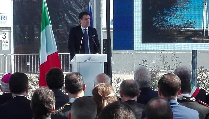 Fincantieri Infrastructure inaugura l'officina del nuovo ponte Morandi