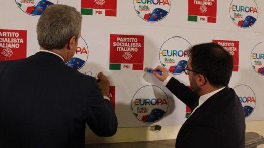 L'alleanza tra +Europa e Pizzarotti si allarga al Partito Socialista Italiano