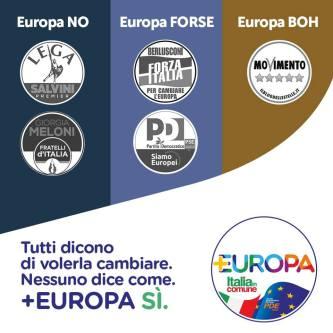 Europee 2019: Io voto Più Europa