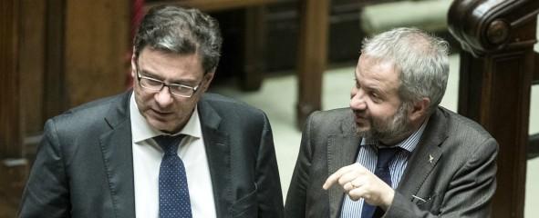 Minibot, Giorgetti scredita Borghi