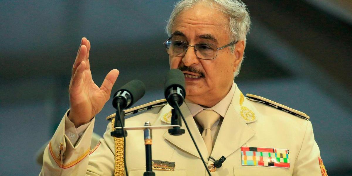 """Libia, Haftar a Roma incontra Conte """"Non mi fermo, voglio entrare a Tripoli"""""""