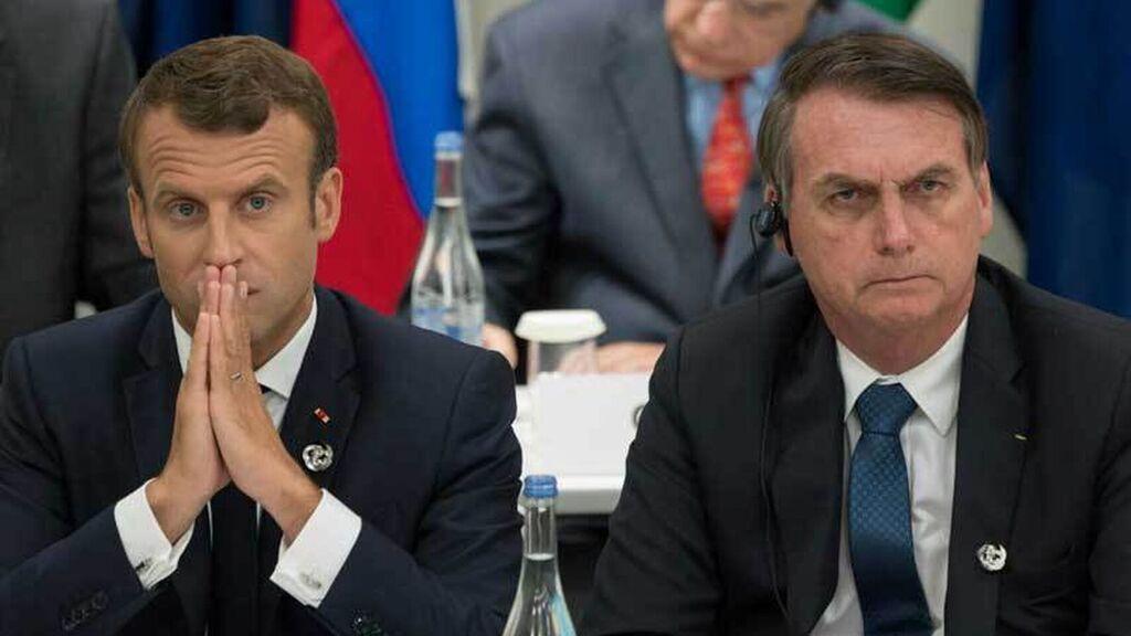 Amazzonia in fiamme, scontro tra Macron e Bolsonaro