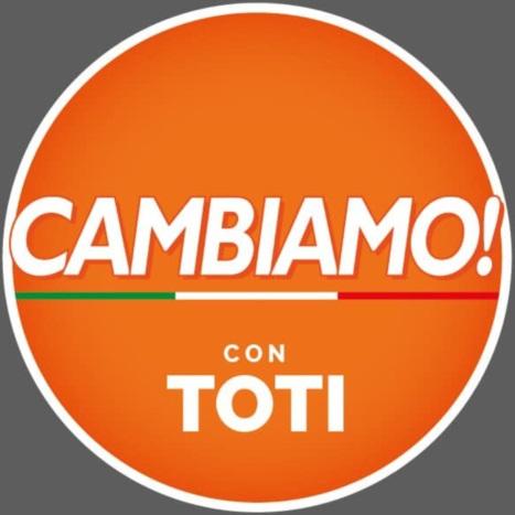 """Toti presenta il simbolo di Cambiamo, Forza Italia: """"Espulso chi aderisce"""""""