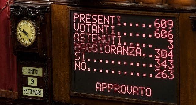Governo Conte 2, fiducia alla Camera