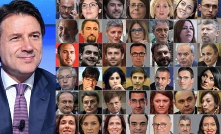 La lista dei 42 sottosegretari del Conte 2