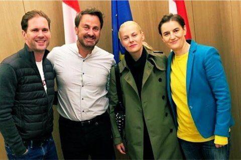 Serbia e Lussemburgo, due premier lgbt