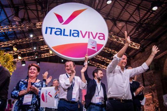 Italia Viva, svelato il simbolo del partito di Renzi: è un gabbiano stilizzato.