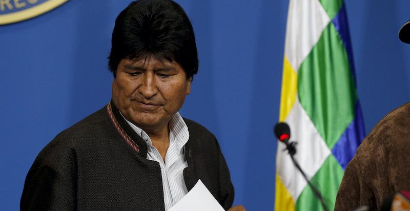 Evo Morales è stato costretto a dimettersi