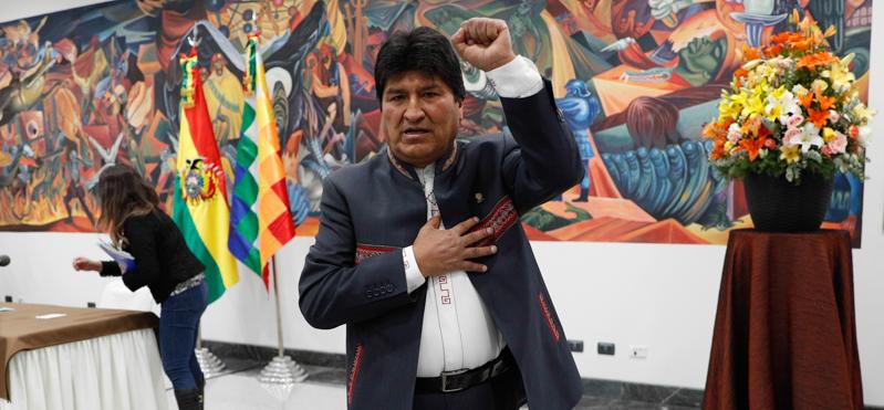 Bolivia, Evo Morales è stato rieletto presidente
