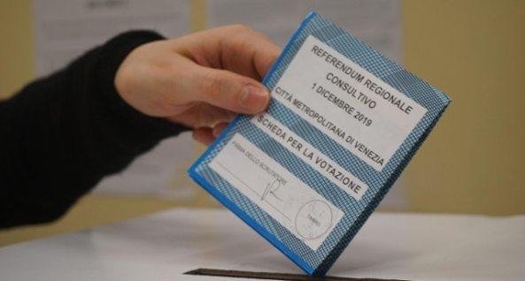 Referendum separazione Venezia-Mestre, flop affluenza: ha votato solo il 21,7%