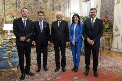Governo, Azzolina e Manfredi hanno giurato al Quirinale