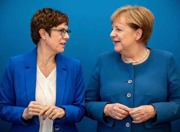 Angela Merkel perde la sua erede