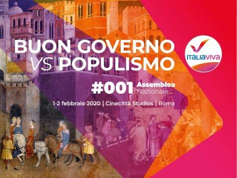 Assemblea Nazionale Italia Viva. Renzi scommette sulla doppia cifra.